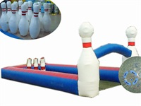 New Style High Denisity Air Sealed Inflatable Human Bowling Game for Party Rentals
