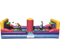 Commercial UL Approval Sports Bungee Challenge Inflatable for Parties
