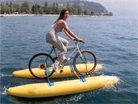 Inflatable Shuttle Bike Kit Boat for Retails