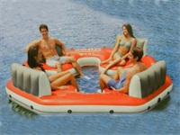 Good Quality CE Approval Fiesta Island Inflatable Boats for Sale