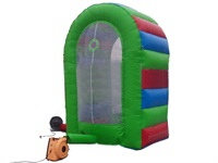 Green Environmental Top Brand Inflatable Cash Money Booth