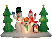 8 Foot Wide Holiday Airblown Christmas Inflatable decoration
