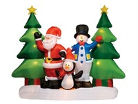 Christmas Inflatables Inflatable Carolers Bring Christmas Joy