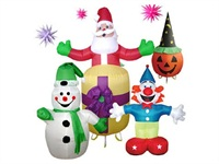 Customized Holiday Airblown Christmas Inflatable Lighting Decoraions