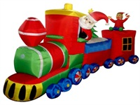 Airblown Christmas Inflatables Inflatable Christmas Train Decorations