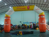 Attactive Gas Supplier Custom Inflatable Arch Display for Sales Promotions