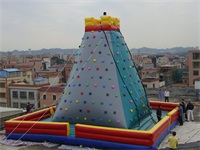 Custom Made Inflatable Rock Climbing City Wall for Sale