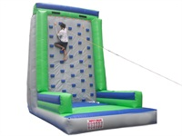 Kids Inflatable Rock Climbing Wall and Slide
