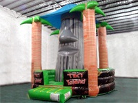 Tiki Island Inflatable Rock Cimbing Mountain