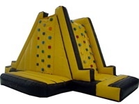Indoor or Outdoor Use Inflatable Rock Climbing Wall for Children