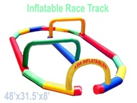 Giant Inflatable Race Track for Zorb Ball Games for Sale