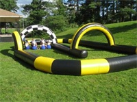 Pony Hop Inflatable Race Track