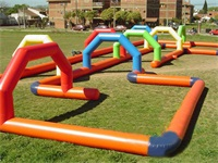 Giant Inflatable Race Track