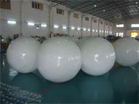 Dia 2m White Helium Balloon