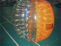 New Half Color Bubble Soccer Ball for Sale