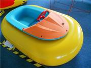 Pure Color Yellow Bumper Boat for Kids Water Sports