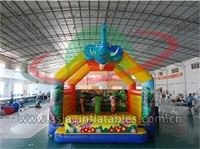 Inflatable Elephant Arch Bouncer