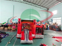 Home Use Inflatable Red Bouncy Castle