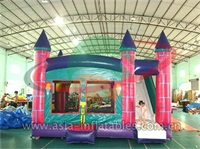 Inflatable Mini Bouncer With Slide Combo