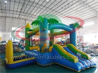 Palm Tree Inflatable Bouncy Castle