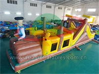 Outdoor Inflatable Pirrate Obstacle Course