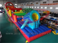 Exciting Inflatable Obstacle Challenge Games For Event