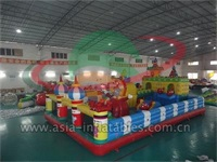 Event Use Inflatable Clown Playground