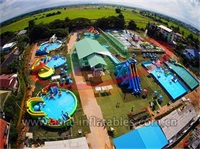 Inflatable Mobile Water Park Equipment, Inflatable Water Park Projects