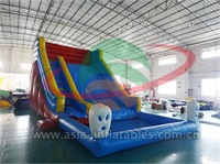 Inflatable Bunny Water Slide With Pool