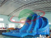 Inflatable Double Lane Water Slide