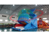 Inflatable Wally Whale Slide