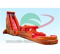 2017 New Inflatable Cali Flame Water Slide
