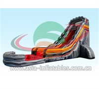 22ft High Inflatable Volcano Water Slide