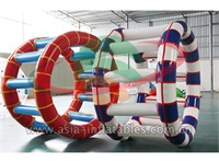Colorful Inflatable Water Roller