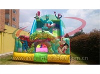 Hot Inflatable Justice League Slide For Kids