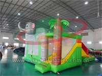Exciting and Interesting Inflatable Elephant Jumping Castle