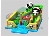 Hot Inflatable Lovely Panda Slide