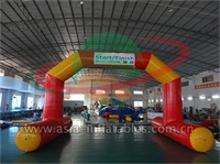 Water Floating Arch Door For Water Sports Event