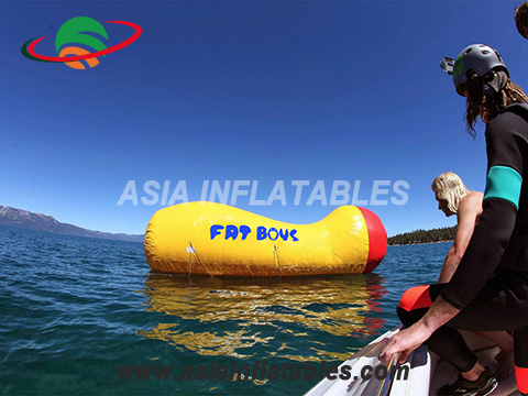 Hot Selling Lake Inflatable Water Blob / Inflatable Blob With Obstacle Course On Water