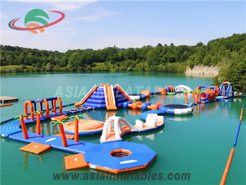 Factory Customized Inflatable Aqua Floating Water Parks