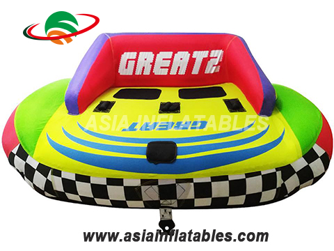 Hot Sale Customized Inflatable Water Ski Sofa