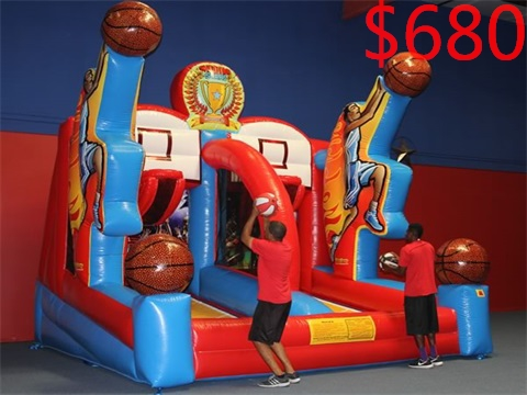 Shooting Stars Inflatable Basketball game