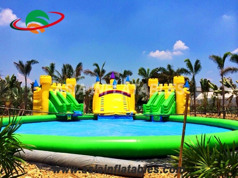 2017 New Arrival 20m Diameter Inflatable Octopus Water Parks for Sale