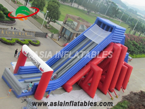 Newest Exciting Inflatable Multi Lane Slide