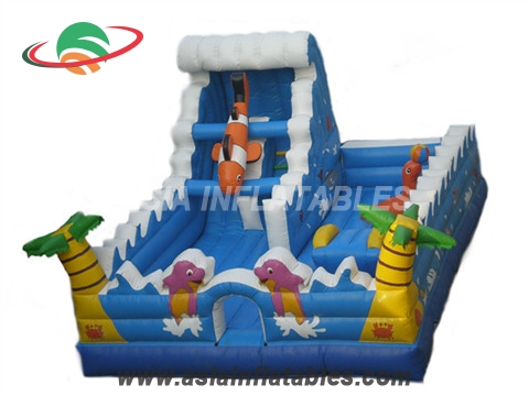 Ocean Theme Giant Inflatable Game Inflatable Interactive Inflatable Fun City