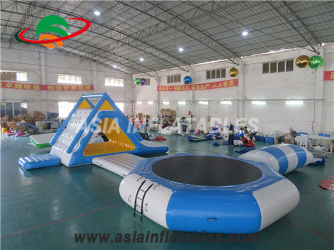Water Jumping Trampoline at Water Park