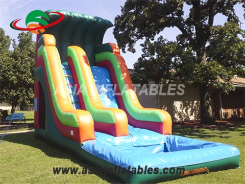 Colorful Inflatable Wave Water Slide