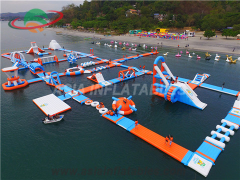 New Design Big Island Inflatable Water Park Floating