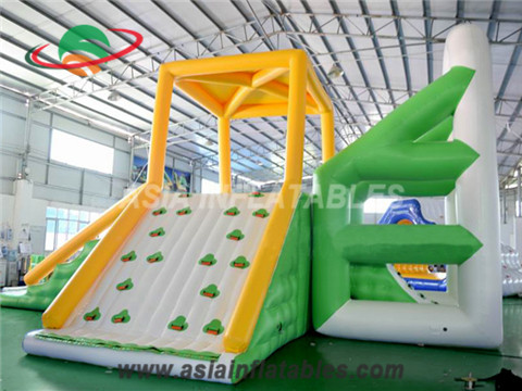 Inflatable Climbing Swing Jumping Tower